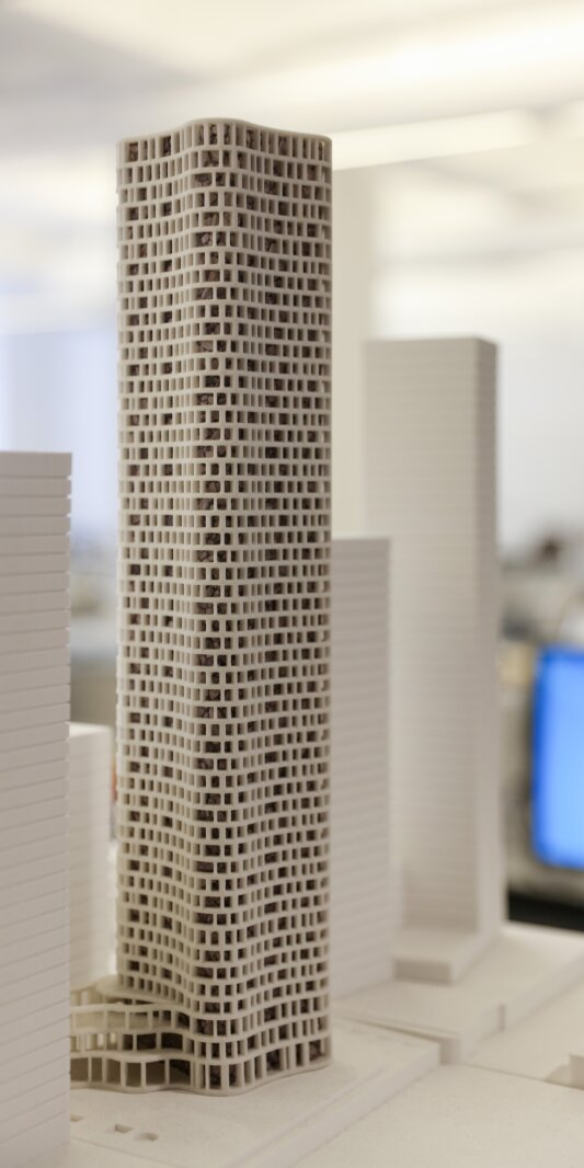 Wood Wharf Tower Model