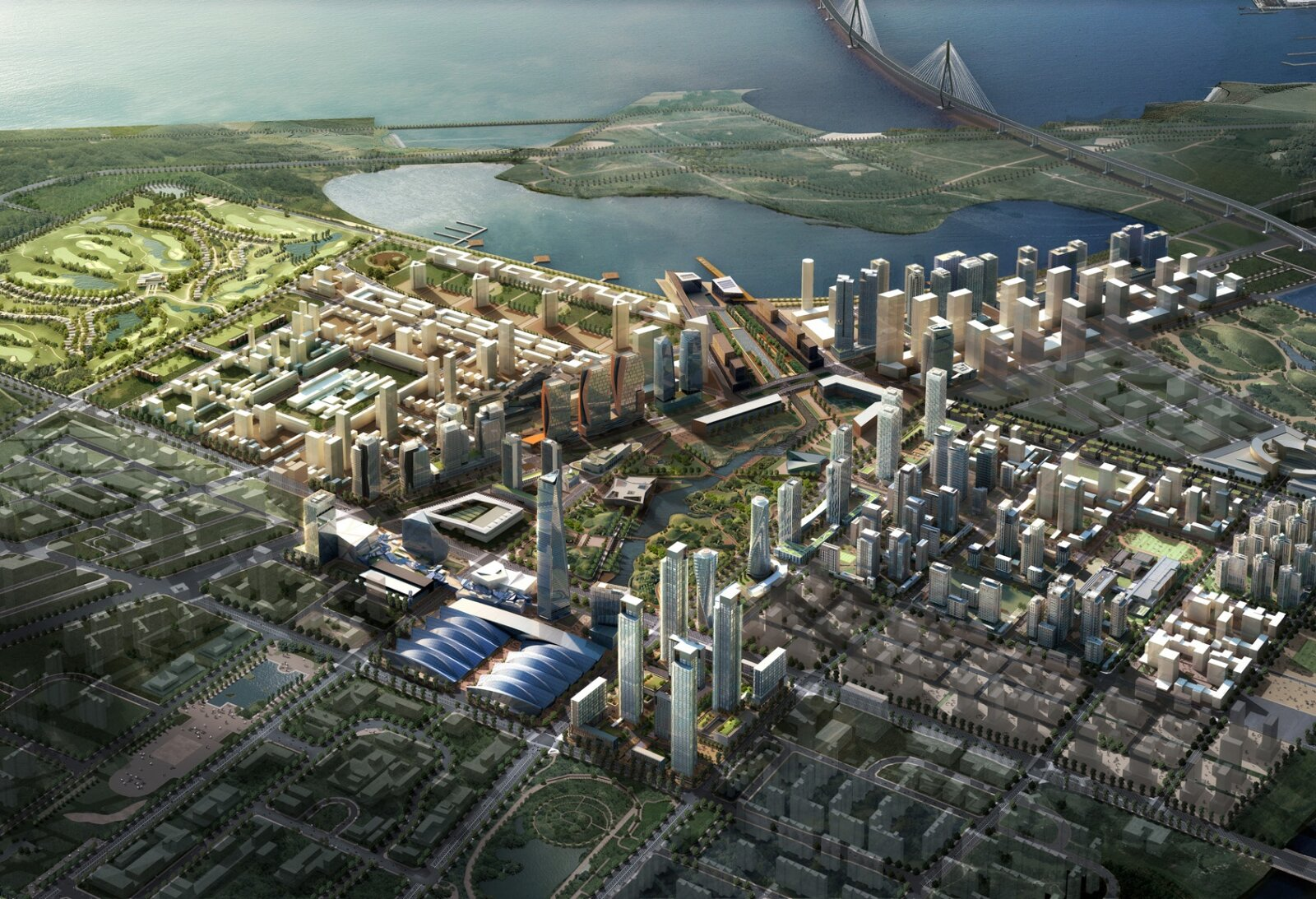 New-Songdo-City-Master-Plan P1
