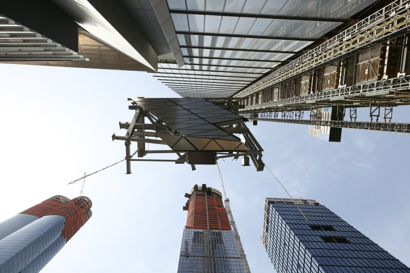 Construction begins on Hudson Yards' Observation Deck