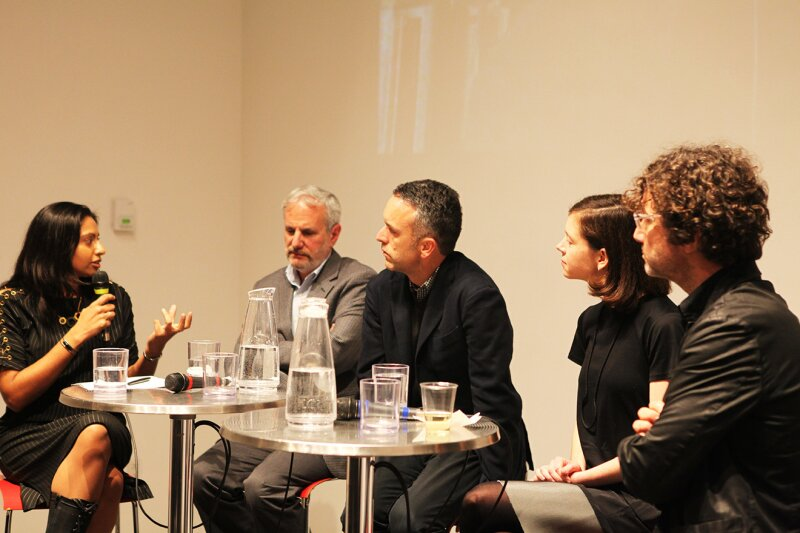Panelists © Kelly Felsberg, Center for Architecture