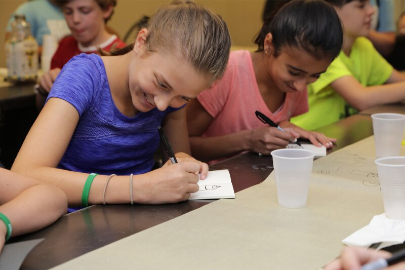 KPF Welcomes Campers Exploring Skyscraper Design