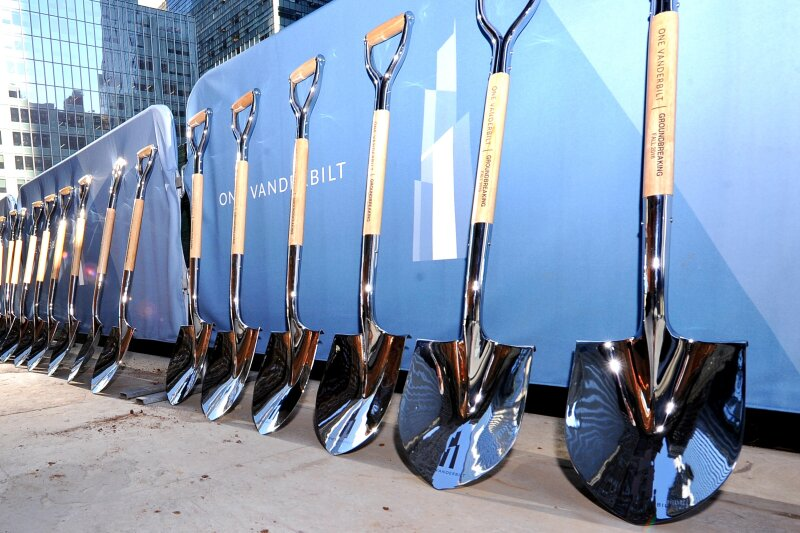 One Vanderbilt shovels ready for action!