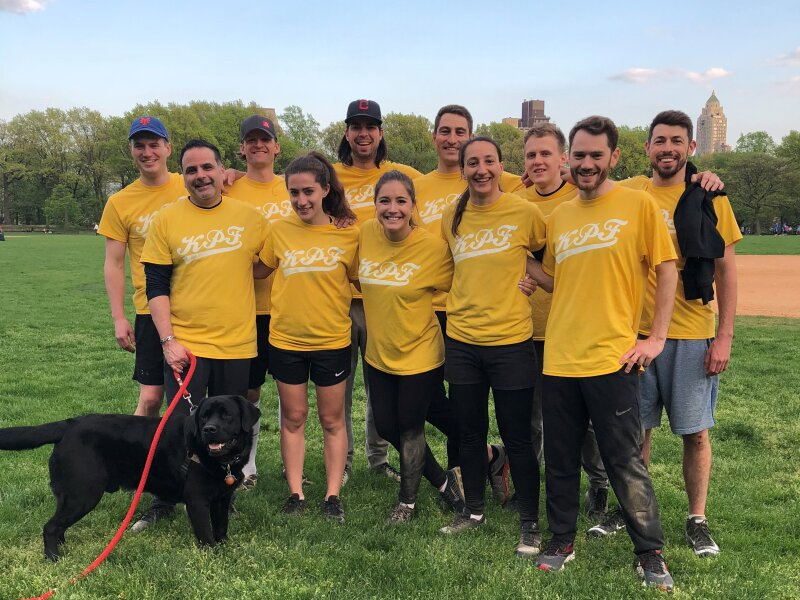 Kpf 2018 Softball Team