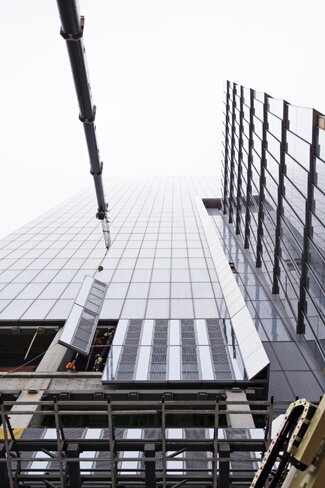 Hudson Yards Curtain Wall Panel Construction