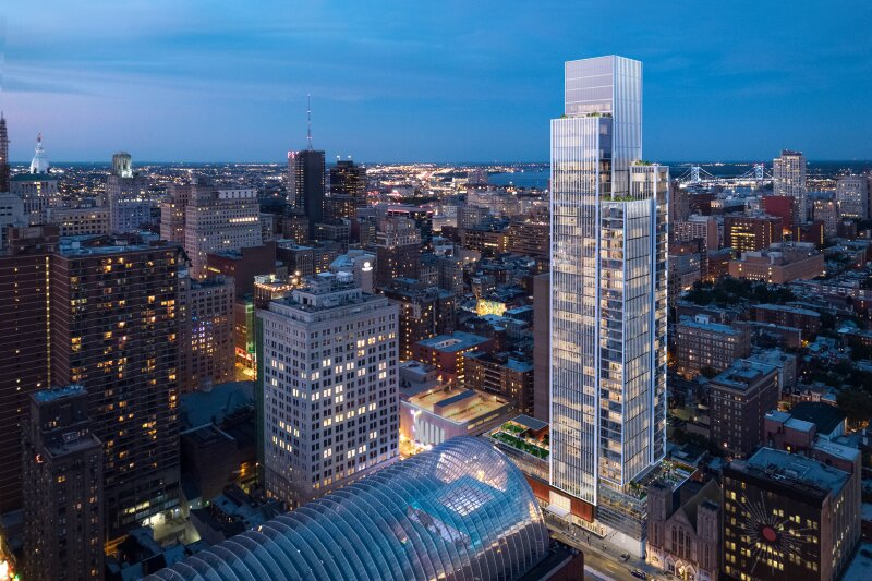 KPF Celebrates Groundbreaking of the Firm's First Residential Tower in Philadelphia
