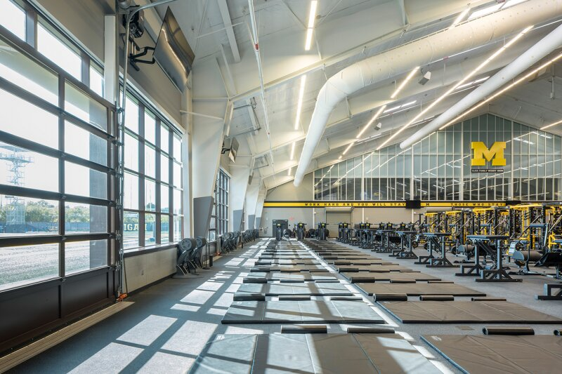 KPF-Designed Football Performance Center Opens at University of Michigan