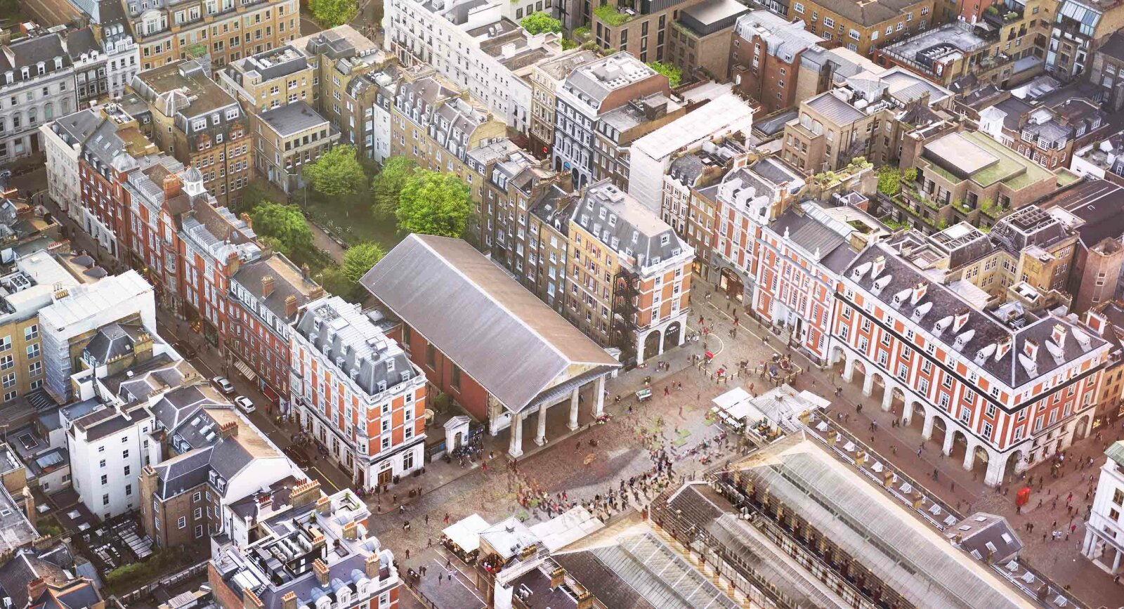 Covent Garden Master Plan